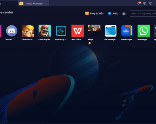 Bluestacks 4 gets a UI change, and how to access the new media manager