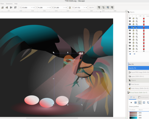 Creating Art Concepts with SVGs in Inkscape